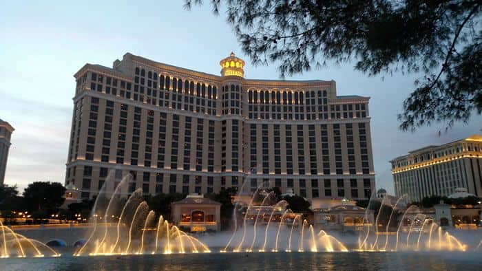 Fountains of Bellagio Resort