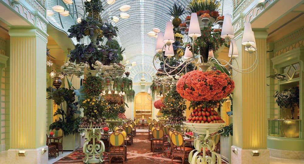 Wynn buffet atrium