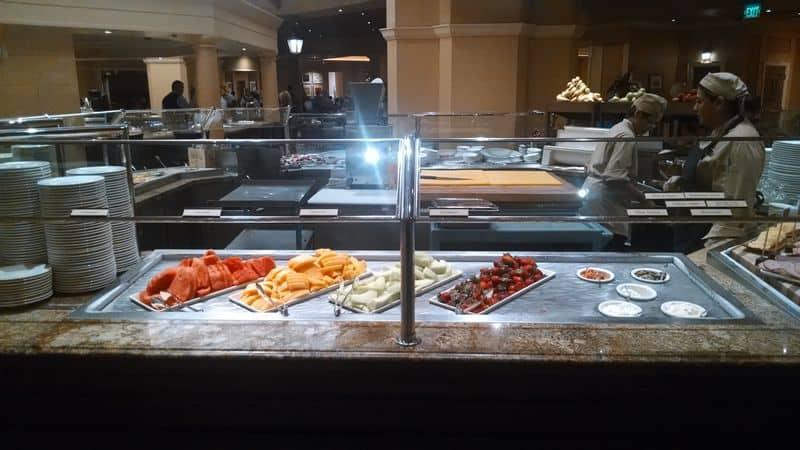 Bellagio Brunch Buffet Fruit