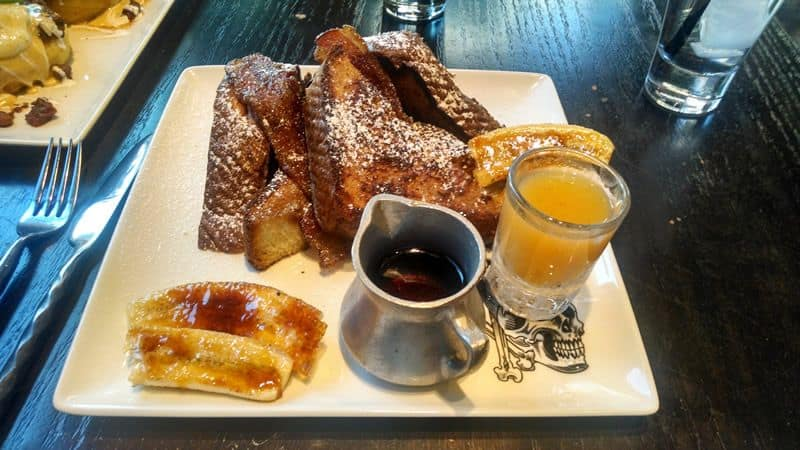 Guy Fieris Maple Bacon French Toast