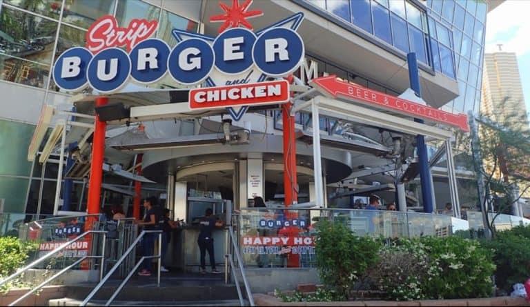 Stripburger and Chicken