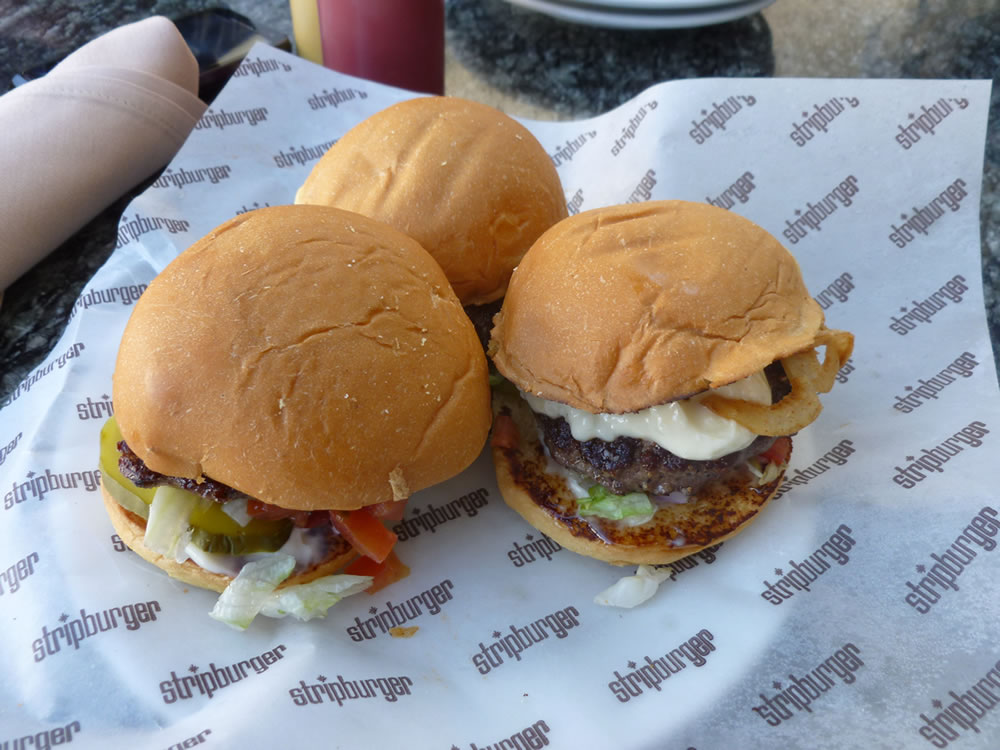 Stripburger's Mini Burger Sampler