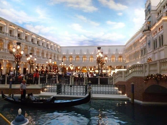 Gondola Ride At The Venetian