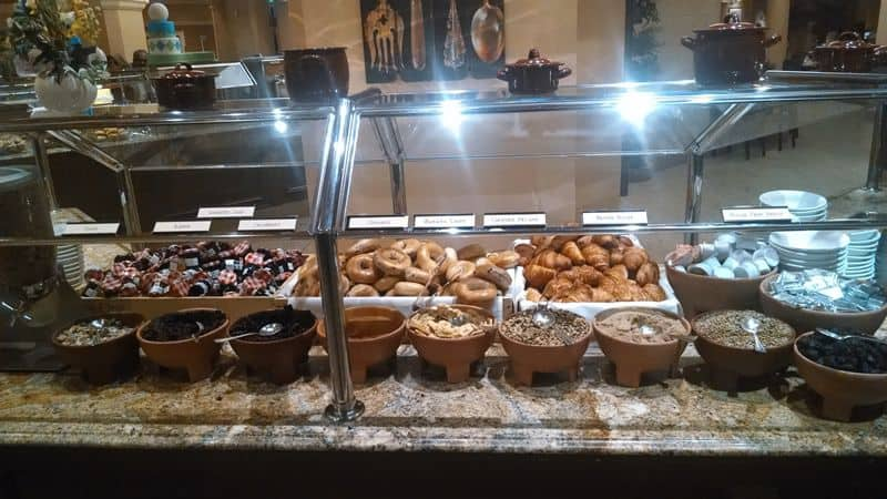 Bellagio Buffet for Breakfast