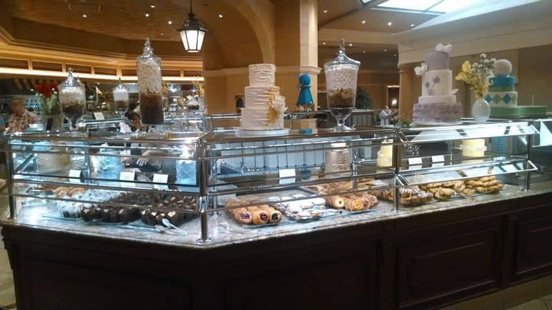 Bellagio Brunch Buffet Pastries