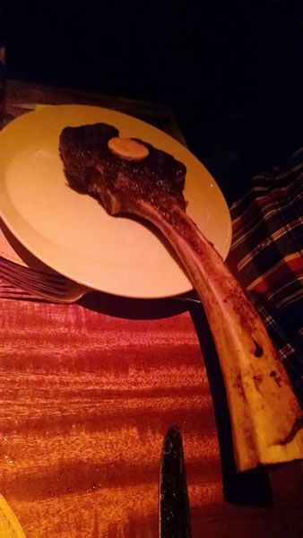 Tomahawk Rib Eye at Stack in the Mirage