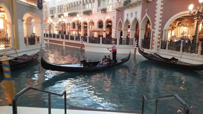 Gondola Ride Venetian