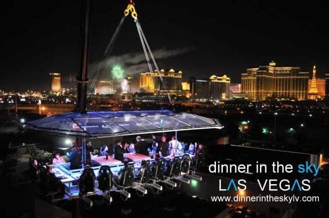 Dinner in the Sky Vegas