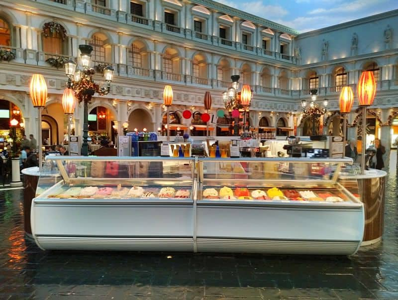 Cocolini in St Marks Square at the Venetian