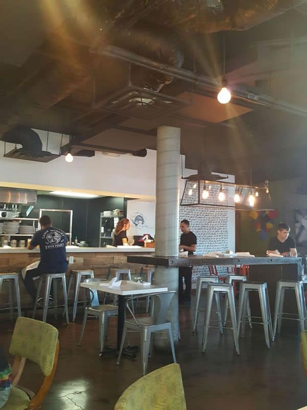 Eat Restaurant Interior