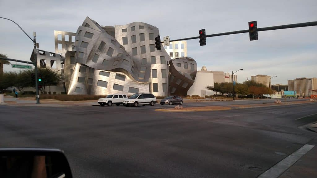 Crazy Building in Vegas