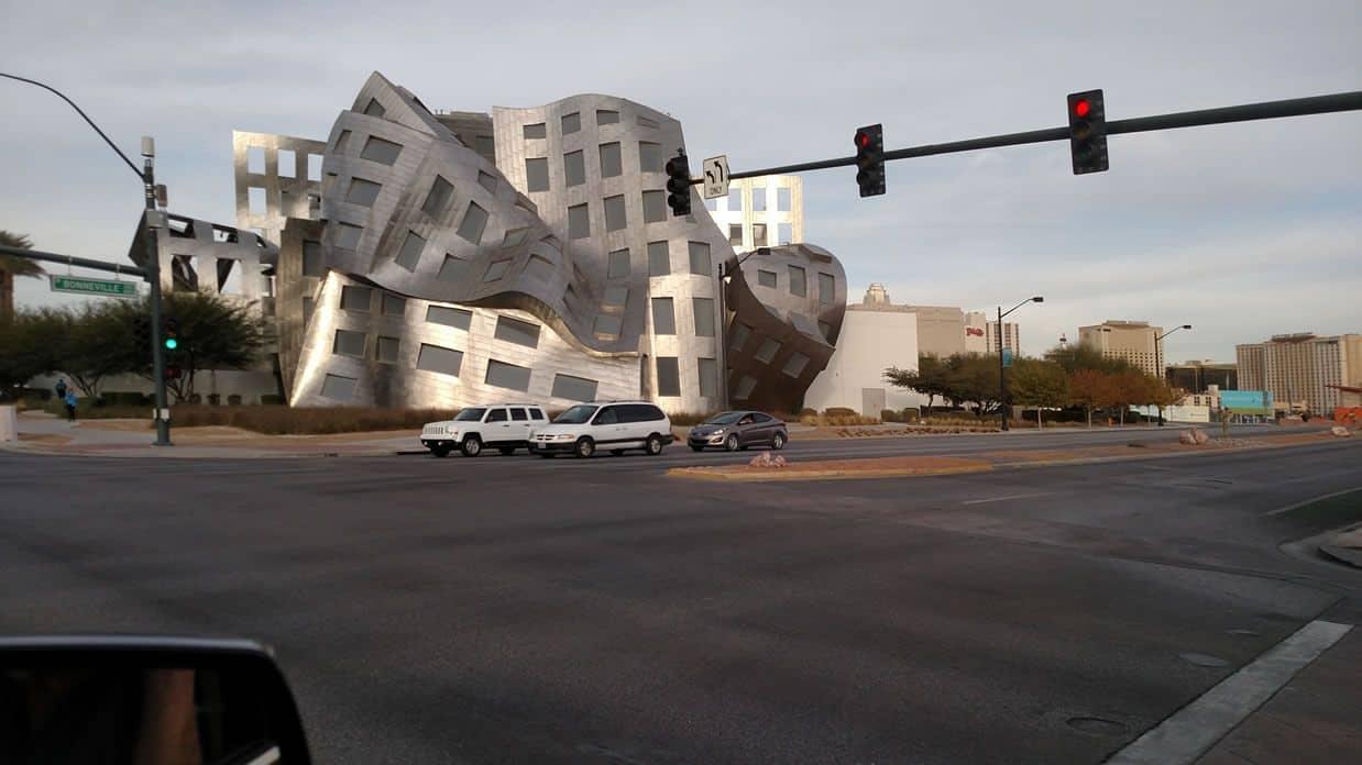 Crazy Building in Vegas