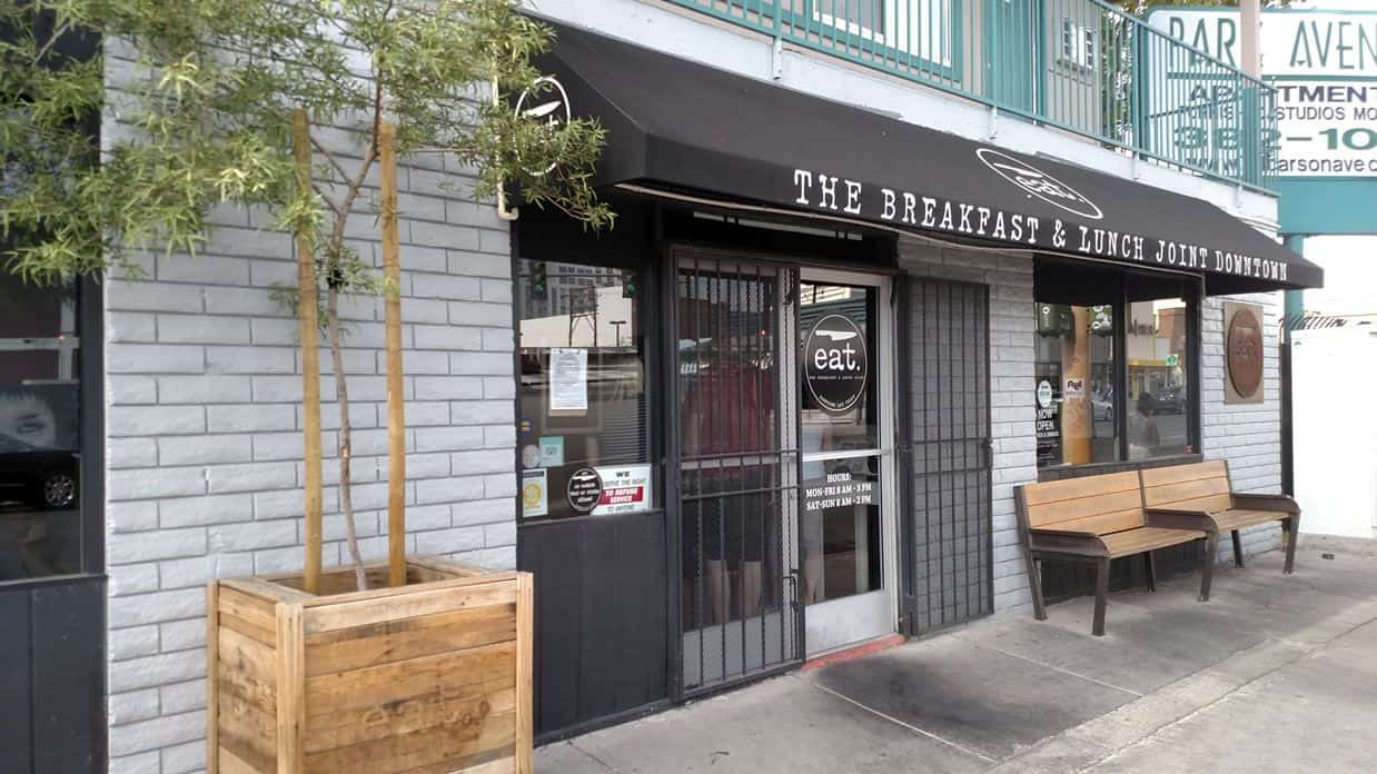 Eat Restaurant Downtown Las Vegas Menus Hours And Location