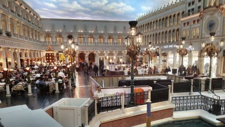 St Mark's Square in Venetian Las Vegas