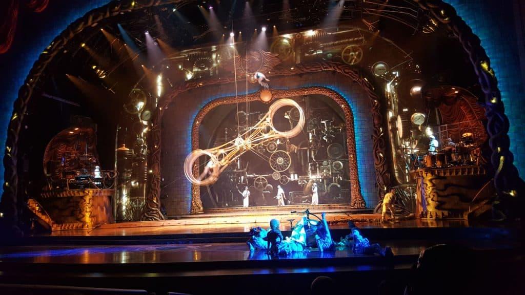 Zarkana Cirque du Soleil show in Vegas
