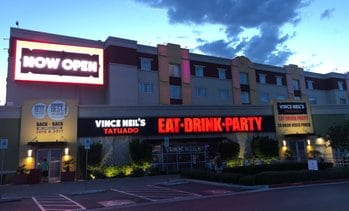 Vince Neil's Tatuado Eat Drink Party