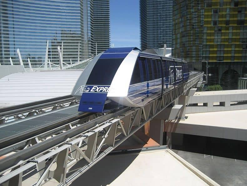 Aria Express Tram Las Vegas
