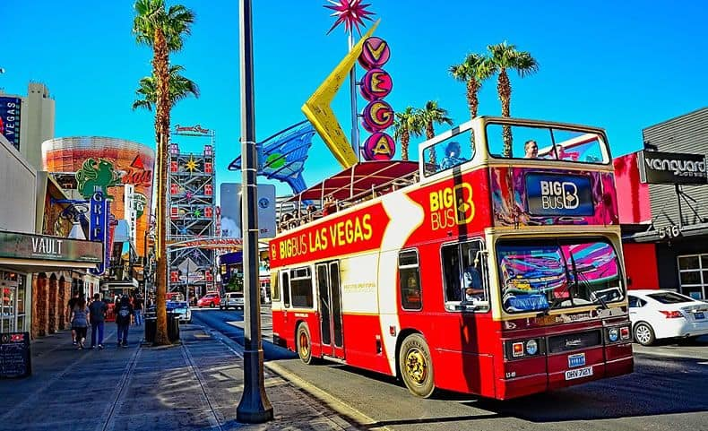 big bus tour Las Vegas