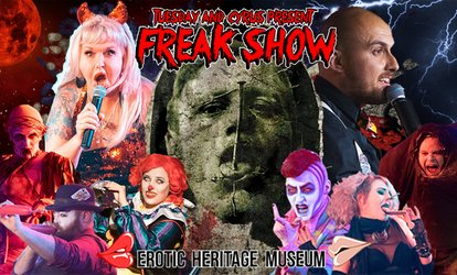 Freak Show at Erotic Heritage Museum