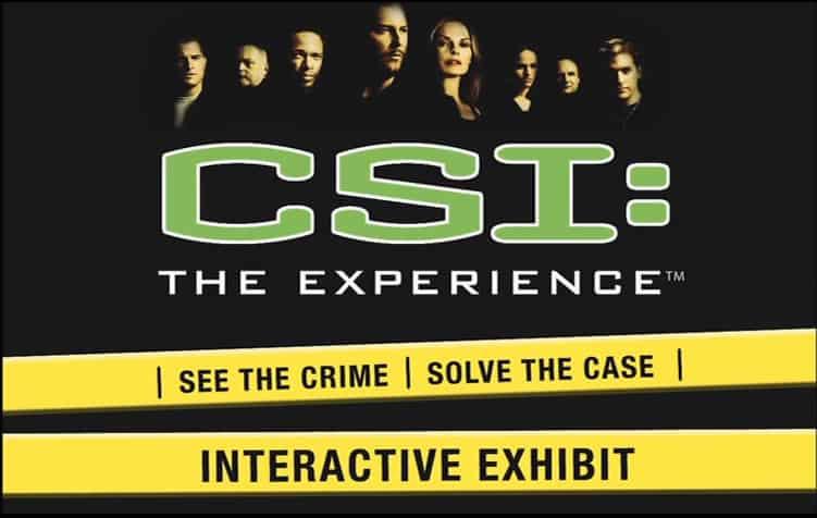 csi the experience
