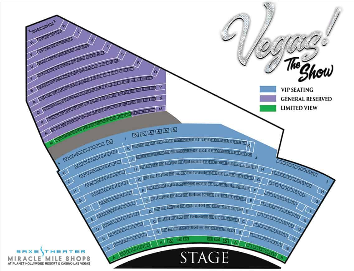 vegas the show seating chart