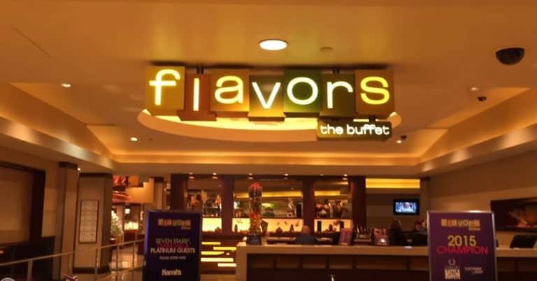 Flavors Buffet at Harrahs Las Vegas