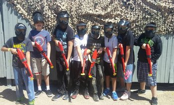Combat Zone Paintball Party