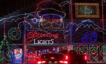 Glittering Lights Vegas Motor Speedway