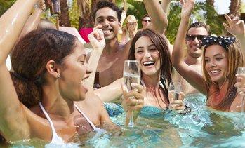 Daytime Vegas Pool Crawl Up to 64% Off