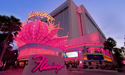 Flamingo 2 night plus $25 credit to the High Roller