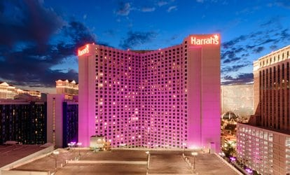 Harrahs 2 night plus $25 credit to the High Roller
