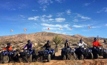 4 Hour Mojave Desert ATV Tour 42% Off