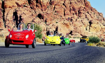 Scootercar Tour of Red Rock Canyon
