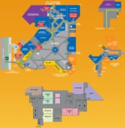 New York New York Hotel Map Resort Map