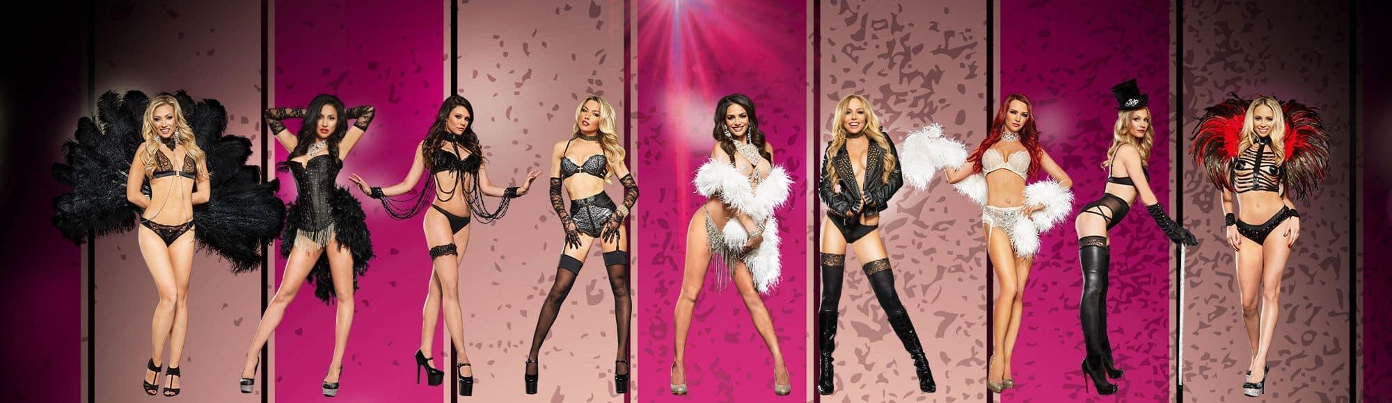 X Burlesque famous for lap dance