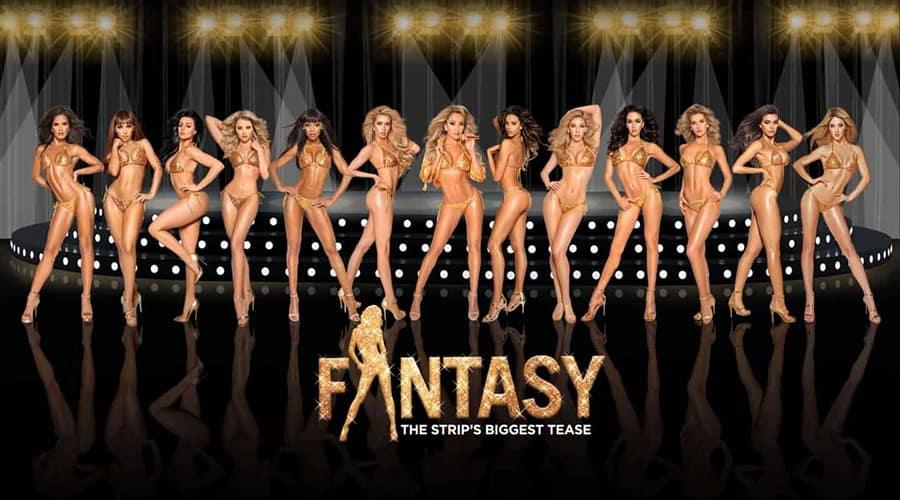 luxor entertainment fantasy show girls