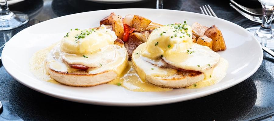 mon ami gabi bethesda eggs benedict brunch