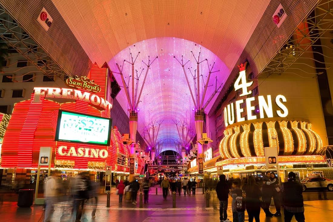 Cheap Hotels on Fremont Street Las Vegas
