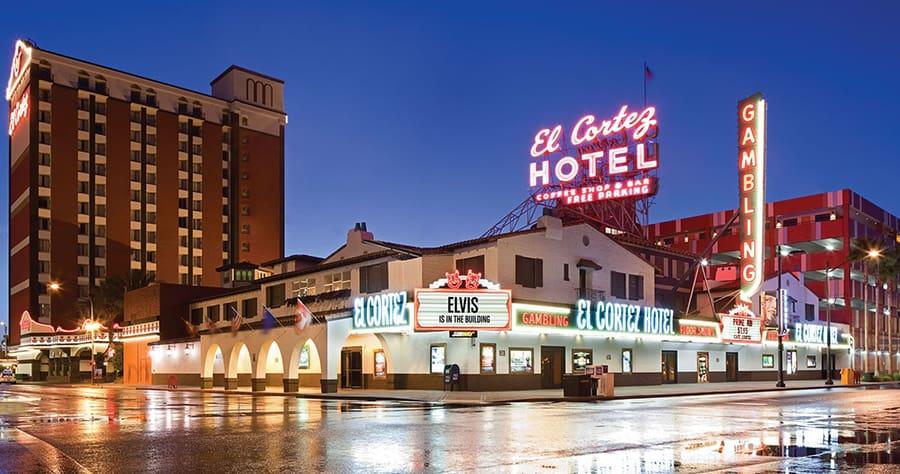 El Cortez on Fremont Street Las Vegas