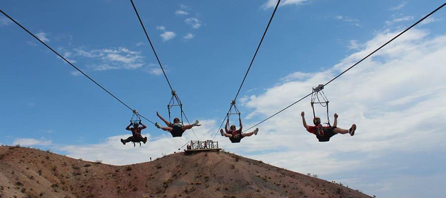 Flightlinez Bootleg Canyon - Best Ziplining Outside of the City