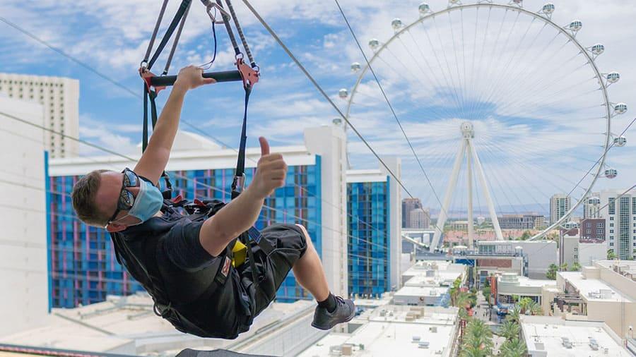Fly LINQ - Best Zipline in Las Vegas