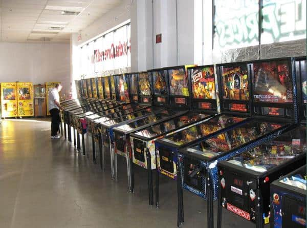 Games at The Pinball Hall of Fame