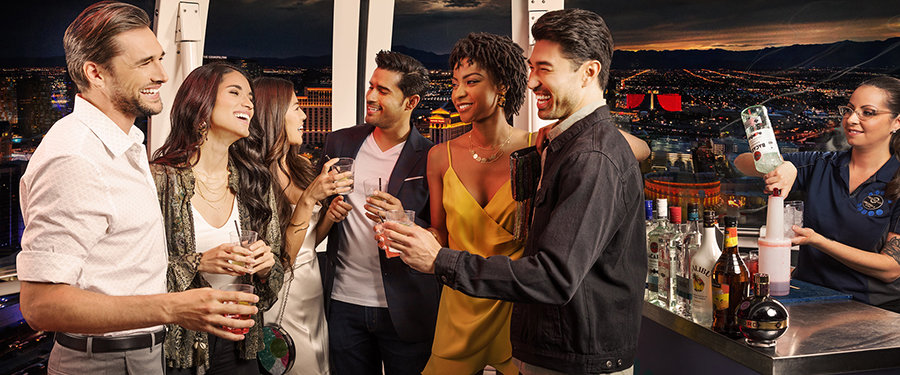 High Roller VIP Cabin Experience
