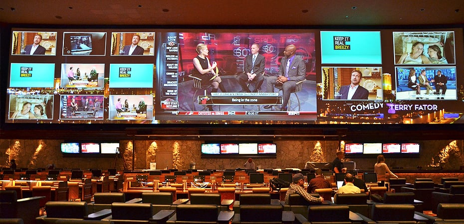 Race & Sports Book at the Mirage