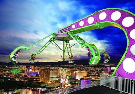 Stratosphere thrill rides