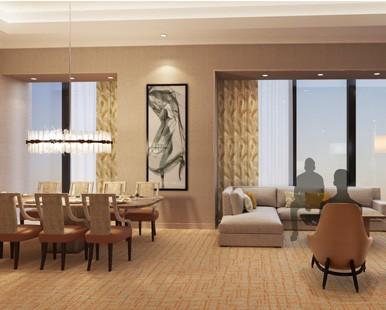 Strip View Two Bedroom Presidential Suite