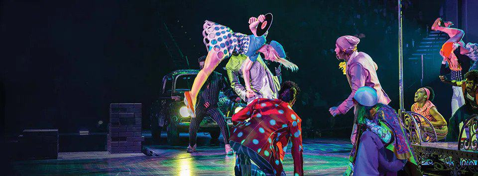 The Beatles Love - Best Las Vegas Cirque du Soleil for Music Lovers