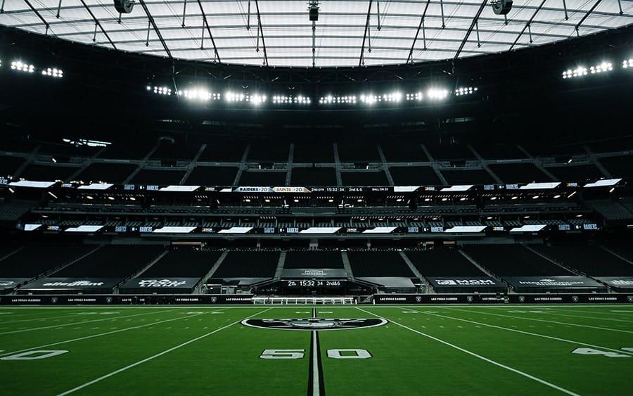 Capacity & Seating at Allegiant Stadium