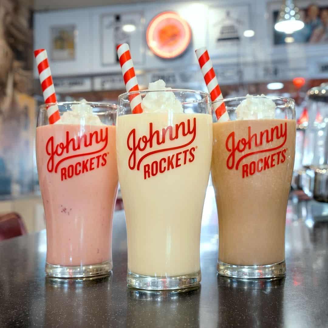 Johnny Rockets Shakes