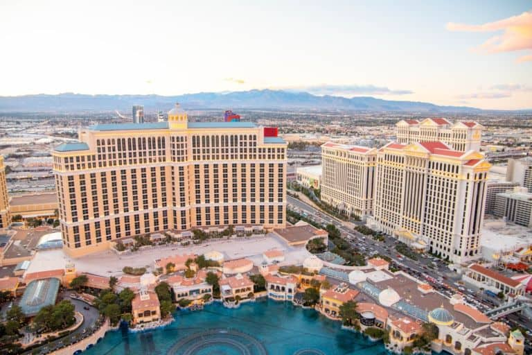 Mid Strip Vegas Hotels